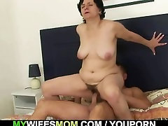 Cockriding father fuck hanny mom sleep and son in law getting busted