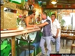 Meet Matures on MATURE-FUCKS.COM - Short Hair Furious Barmaid