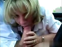 Met her on MATURE-FUCKS.COM - Scots MILF sucks dick during lunch break
