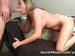 Cute porno Goddess Sophia loves getting mouth fucked for a pure facialization