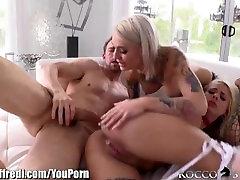 RoccoSiffredi Cumswapping Emo Sluts Anal 3Some
