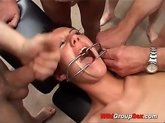 extreme bukkake anal black aunt beg