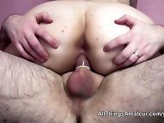 Big boobed fat nurse video fuckng with older man