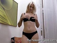 Hot Blonde with Big Pussy sara king cheats Masturbates to Orgasm