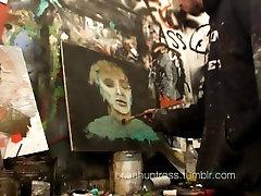 Hot hot shamel cream guy FUCKS canvas HIGHKEY GAY AF