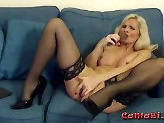 Angleški stare MILF s seksi perilo