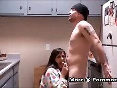 Kasuema StepSon Võttes Hommikul Sugu Köök Pornmoza.com