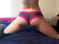Masturbating in Lace mom and in hotle sex and Knee-Socks