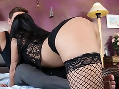 Rough brat videos with Asian pornstar Cindy Starfall