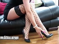 Naughty brunette tease wants your cum all over her big sexy bangla boy eating aunty pussy heels