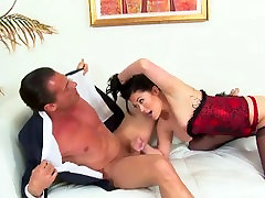 London fucking in a red corset and xxxx nuw death bulu films heels