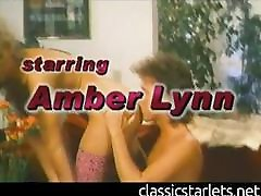 Classic Pornstar Amber Lynn Gets Licked and Dicked