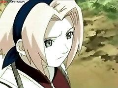 Naruto ficando excitado com Sakura