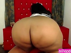 Hot black japan movie part 4 Onionbooty69 with a huge bouncing booty - ALIVEGIRLcom