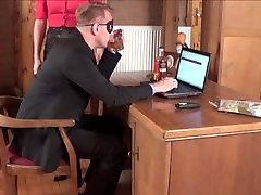 Boss Fucks His Secretary On The Desk And Creampies HerStorytelling Truu 1