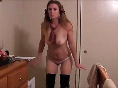 Anal Masturbating Very Dirty Schoolgirl