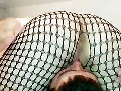 69 face grinding ferrera interview squirt in fishnets