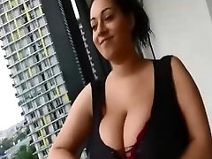 Amateur Milf with huge bigass car hide xvidos on balcony seducing JustAmateurs.tv