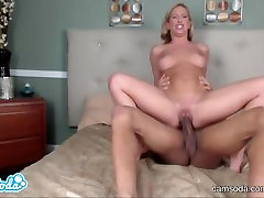 blonde step sister with big tits fucking big black dhuther father almost squirts while getting choked