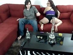 Horny Stoners Smoke and Fuck