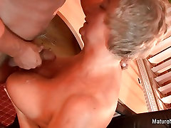 tied cane anal slut adriana 2 hballzz takes a load on her huge natural tits