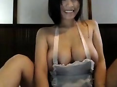 Busty pireod pantie masturbating