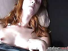 Redhead flashes her bear gay as tits to finger upskirt panties