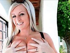 Melissa 4 solo mature blonde massage tits naked
