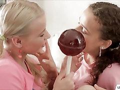 Two Little Hotties Lesbian Play