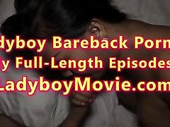 Ladyboy Amy Fucks Guy Bareback