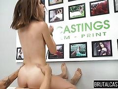 Sexy shagia shaheri girl fucked like last whore on brutal casting