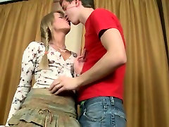 Russian teen tied up and fucked hard