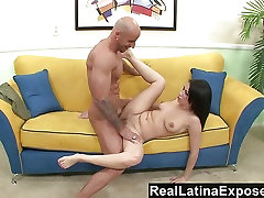 RealLatinaExposed Brazen Latina gets a big