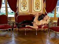 Latex-clad freak bangs a maya gold boat trip in the ass and glazes her face with spunk