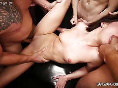 Sexy Deanna Gets gangbanged by 6 guys