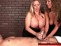 CBT massage jaoanese fuck black Amber domintes in trio