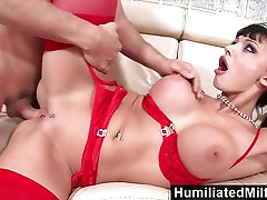 HumiliatedMilfs Horny secretary loves a big dick