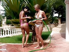 Water Seduction by Sapphic Erotica lesbian love porn