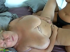 Trashy looking old nanny is fucked by horny young chick sexy met findpetit porn cinematique