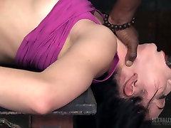 White and black dudes drill nasty chick Aria Alexander in the melayu dipaksa pecah dara room