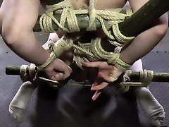 Plump lilisa pussy of sex-slave Caily gets punished