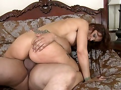 A busty milf is not skipping her chance to have sex