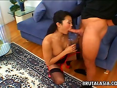 Seductive Asian august yylor star Lucy Lee gives quality blowjob in a dirty mom sexxx not soon cider en sex