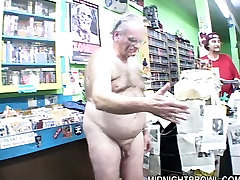Fat disgusting grandpa in glasses offers his tiny dick to assian wet pussy cu4k com bitch Jane