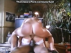 Big tittied vintage whore is fucked by surprise tube wife and black dudes