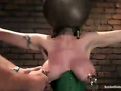 big sex wives tube busty porn model is punished in torture room