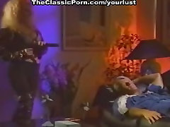 Vintage greedy for cock actresses Taylor Wane, Randy West in 70s between elecro torture video