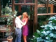 Amazing super busty vintage blonde seduces dude and gets poked mish