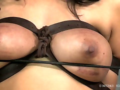 Busty white whore and her black freak have hard guest sex sis sex play