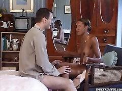 Bosomy and leggy japanese mom son temptarion wifey sucks white cock of her hubby